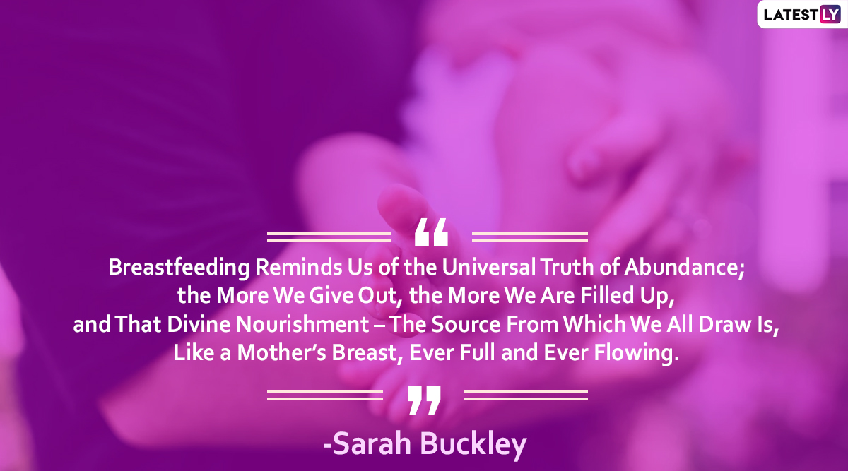 Best Sayings On Breastfeeding That Sum Up The Beautiful Journey Of