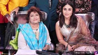 Saroj Khan No More: Kareena Kapoor Khan Remembers the Lessons Taught by the Mother of Choreography, Says 'Till We Dance Again' (View Post)