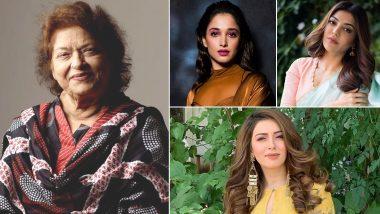 Saroj Khan Death: Tamannaah Bhatia, Kajal Aggarwal, Hansika Mourn the Demise Of Indian Cinema's Legendary Choreographer