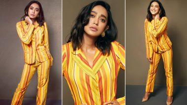 Sayani Gupta Is All About Being a Chic Ray of Sunshine in Stripes!