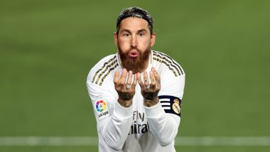 Sergio Ramos Goal Steers Real Madrid Seven Points Clear With 1-0 Win Over Athletic Bilbao, Netizens Praise Centre-Back For Scoring Feat