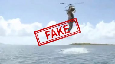 Shark Attacking Helicopter in 'Rare Video' Purchased by National Geographic For Million Dollars is Not True! Here's a Fact Check on Viral Clip From 5-Headed-Shark Attack Trailer