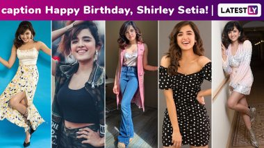 Shirley Setia Birthday Special: The Pyjama Popstar's Cute, Unmissable Girl-Next-Door Spunk Translates Perfectly Into a Lucid Fashion Arsenal!