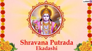 Shravana Putrada Ekadashi 2020 Images & Pavitra Ekadashi HD Wallpapers For Free Download Online: Wish Happy Pavitropana Ekadashi With WhatsApp Messages and GIF Greetings