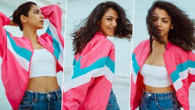 When Shriya Pilgaonkar Had a Chilling in Denims and a Whole Lotta Pink Punk Kinda Vibe!