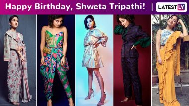 Shweta Tripathi Birthday Special: A Peek Into the Vivacious Girl's Love for Homegrown Labels That Are Impeccable and Irresistibly Chic!
