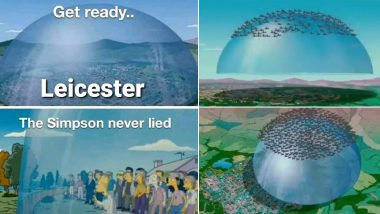 The Simpsons Predicted Leicester Lockdown? Netizens Relate The Boundary of Leicestershire To Glass Dome Scene From The Animated Movie (Check Tweets)