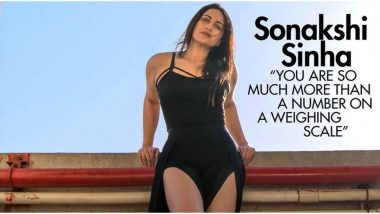 Sonakshi Sinha Poses For Cosmopolitan India Magazine In a Sexy Black Dress and Offers a Strong Dose of Self-Love! (View Pic)