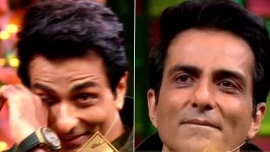 Sonu Sood Breaks Down on The Kapil Sharma Show As Migrant Workers Express Their Gratitude (Watch Video)