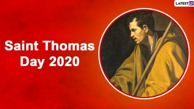 St Thomas Day 2020 FAQs: From 'Why Is St Thomas Day Celebrated' to 'Why Was Thomas Called Didymus?' Everything You Want to Know About Day Dedicated to the Apostle