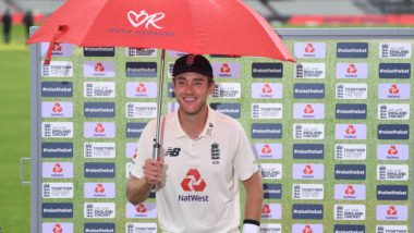Stuart Broad's First Instagram Post After Taking 500 Test Wickets is Special! England Pacer Says 'I Love Cricket'