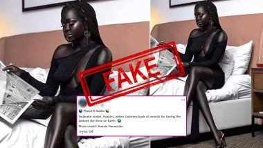 Fact Check: Sudanese Model Nyakim Gatwech Did NOT Enter Guinness World Record For Her Darkest Skin on Earth, Know Truth About The Viral Claim