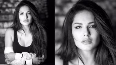 #ChallengeAccepted: Sunny Leone Takes Part In The Women Empowerment Trend, Shares A Stunning Monochrome Picture On Instagram!