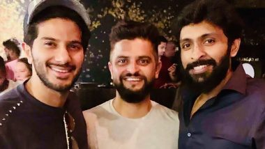 Suresh Raina Extends Birthday Wishes to Dulquer Salmaan (View Post)