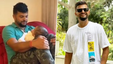 Suresh Raina Playing With Son Rio Is the Cutest Video You Will Find on Internet Today! Take a Look at Some More Pictures of This Lovely Father-Son Duo