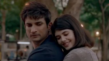 Taare Ginn Teaser: Dil Bechara's Romantic Track Starring Sushant Singh Rajput and Sanjana Sanghi To Be Out on July 15 (Watch Video)