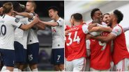 Tottenham Hotspur vs Arsenal, Premier League 2019-20 Free Live Streaming Online & Match Time in India: How to Watch EPL Match Live Telecast on TV & Football Score Updates in IST?