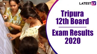 TBSE 12th HS Result 2020 Declared: 80.80% Pass, Check Class 12 Tripura Board Exam Results for Arts, Science and Commerce Online at tripuraresults.nic.in