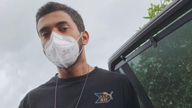 KL Rahul Posts Masked Photo, Says 'Can You Tell I'm Smiling'