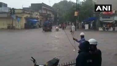 Gujarat Rains: Floods Reported in Parts of Dwarka as Several Districts Receive Intense Rainfall, Watch Video