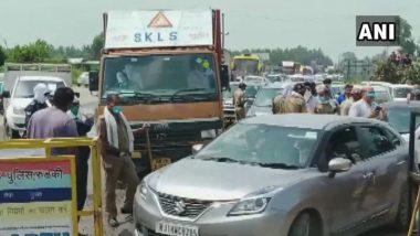 Kanwar Yatra 2020: Uttarakhand Govt Seals Borders of Haridwar to Restrict Entry, Devotees Urged to Return to Their States