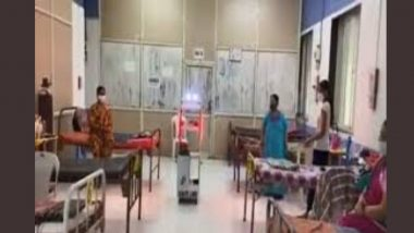 Robot Gollar: Mumbai's Podar Hospital Gets Its First Robot to Carry Medicine, Food & Water For COVID-19 Patients in Quarantine Facility