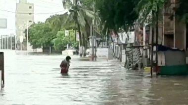 Gujarat Rains Video: Intense Rainfall Triggers Severe Waterlogging in Dwarka City