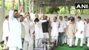 Rajasthan Political Crisis: 107 MLAs Present at Congress Legislative Party Meeting in Jaipur, CM Ashok Gehlot's Advisor Confirms