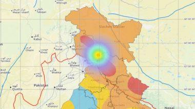 Earthquake in Jammu and Kashmir: Quake of 5.1 Magnitude Occurs Near Katra