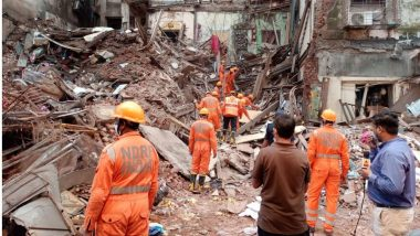 Mumbai Building Collapse Update: Death Toll Rises to 6 as Rescue Operation Underway at Bhanushali Building Collapse Site in Fort
