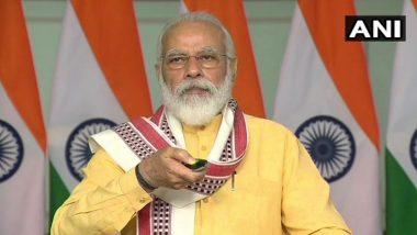PM Narendra Modi to Launch 'High-Throughput' COVID-19 Testing Facilities in Noida, Mumbai and Kolkata Today