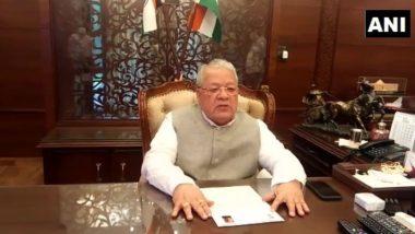 Rajasthan Political Drama: Governor Kalraj Mishra Sends Back Third Proposal for Assembly Session