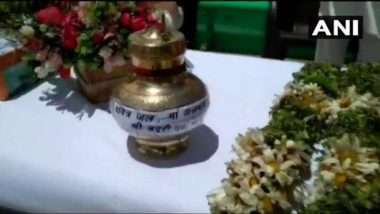 Ram Temple Foundation Stone Laying Ceremony: Ahead of Event on August 5, Soil From Badrinath & Water From Alakananda River Sent to Ayodhya