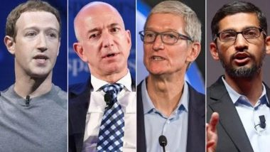 Antitrust Hearing: Mark Zuckerberg, Jeff Bezos, Tim Cook & Sundar Pichai to Defend the Tech Giants They Built as US Success Stories