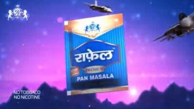 Rafale Pan Masala Once Again Creates Noise on Social Media as Rafale Fighter Jets Land in India, ASCI Questions Video Ad As Statutory Warning Missing