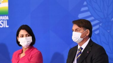 Michelle Bolsonaro, Brazil's First Lady Tests Positive For COVID-19, Fifth Minister From President Jair Bolsonaro's Cabinet Also Found Infected