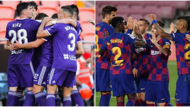 Real Valladolid vs Barcelona, La Liga 2019–20 Free Live Streaming Online & Match Time in India: How to Get Live Telecast on TV & Football Score Updates in IST?