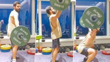 Virat Kohli Workout Video: Indian Cricket Team Captain Picks Power Snatch As His Favourite Exercise, Says 'Love Doing It'