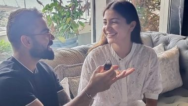 Virat Kohli Baked a Cake on Wife Anushka Sharma's 32nd Birthday, Indian Cricket Team Captain Says 'She Loved It' (Watch Video)