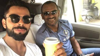 Virat Kohli, KL Rahul and Others Wish 'Happy Birthday' to India's Fielding Coach R Sridhar
