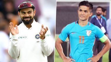 Virat Kohli Has a Hilarious Response As Sunil Chhetri Throws Fitness Challenge at Him