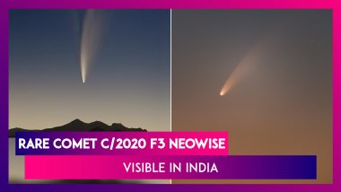 Rare Comet C/2020 F3 NEOWISE To Be Visible In India: Know All About The Celestial Event