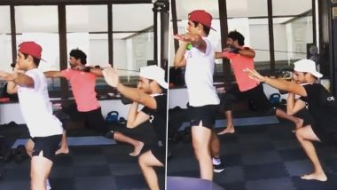 Yuvraj Singh, Shubman Gill Sweat Out at Gym with  As 'Thugs of Punjab' Get Ready