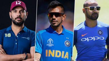 Happy Birthday Yuzvendra Chahal: Yuvraj Singh, Shikhar Dhawan Lead Cricket Fraternity in Wishing the RCB Leg-Spinner As He Turns 30