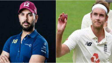 Yuvraj Singh Praises Stuart Broad, Says 500 Test Wickets is No Joke; You are a Legend