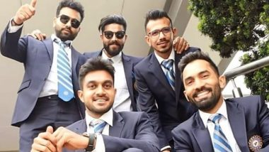 Yuzvendra Chahal Shares Throwback Picture With Rohit Sharma, Ravindra Jadeja and Other Teammates From 2019 World Cup