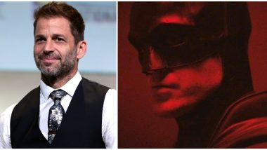 Here's What Zack Snyder Has to Say About Robert Pattinson's The Batman!