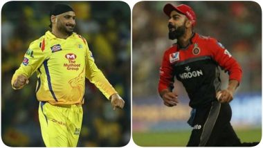 Chennai Super Kings, Harbhajan Singh Have a Hilarious Take on Virat Kohli's Post About New Shoes Launched by a Sports Brand