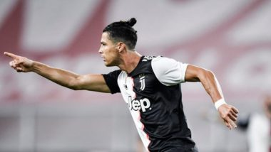 Cristiano Ronaldo's Screamer Helps Juventus Win Serie A 2019-20 Tie Against Genoa by 3-1, Netizens Hail The Portugal Star (Watch Goal Video)
