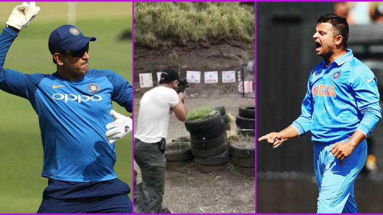On MS Dhoni's Birthday Suresh Raina Shares Unseen Video of CSK Captain Target Practicing and Acing It Like a Boss
